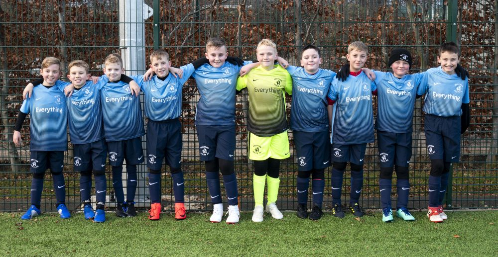 Shotton Colts football players