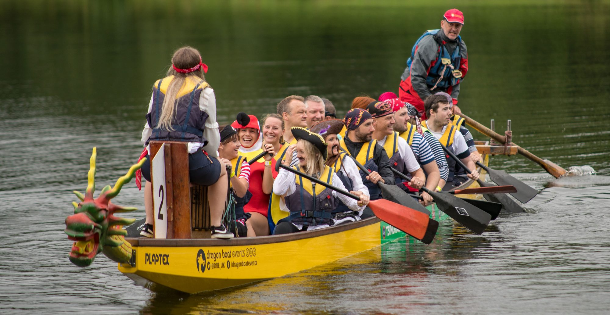 The Great Dragon Boat Race